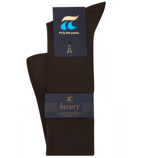 ART:153 LUXURY KNEE HIGH-100% Mercerized Cotton-The finest and most dense knitting ( C )